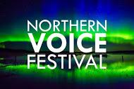 Northern Lights Image With Logo Web