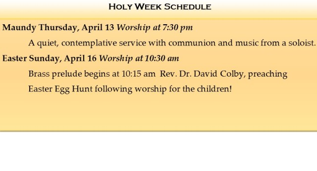 Holy Week fb