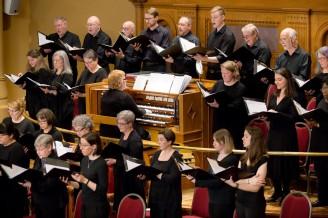 Side view choir